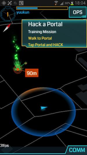 Ingress hack portal