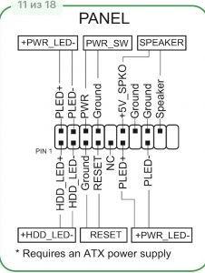 B250_system_panel_connector
