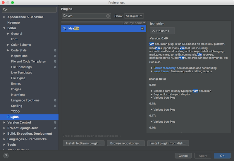 pycharm_plugin_ideavim